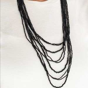 Totally Tonga black necklace